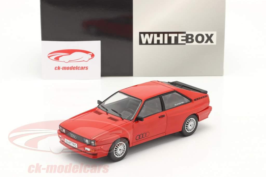 Audi quattro 赤 1:24 WhiteBox