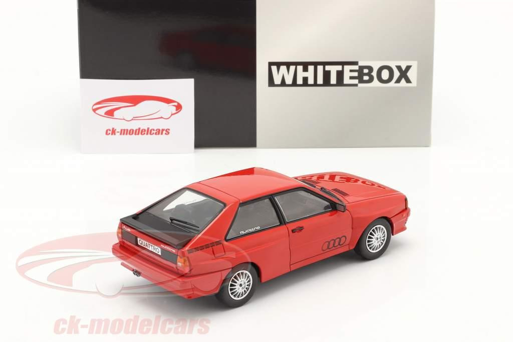 Audi quattro rojo 1:24 WhiteBox