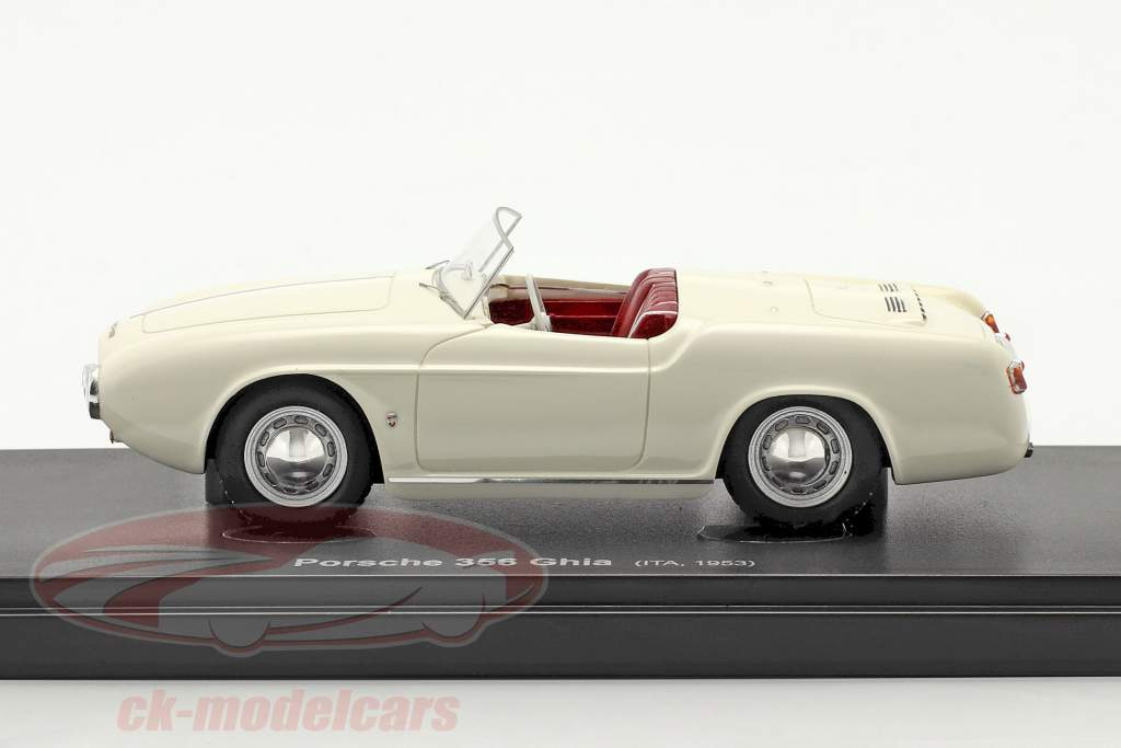 Porsche 956 Ghia prototype Byggeår 1953 hvid 1:43 AutoCult