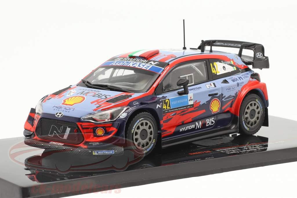 Hyundai i20 Coupe WRC #42 2. plads Rallye Estland 2020 Breen, Nagle 1:43 Ixo