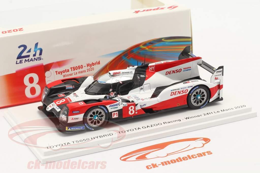 Toyota TS050 Hybrid #8 vinder 24h LeMans 2020 Toyota Gazoo Racing 1:43 Spark