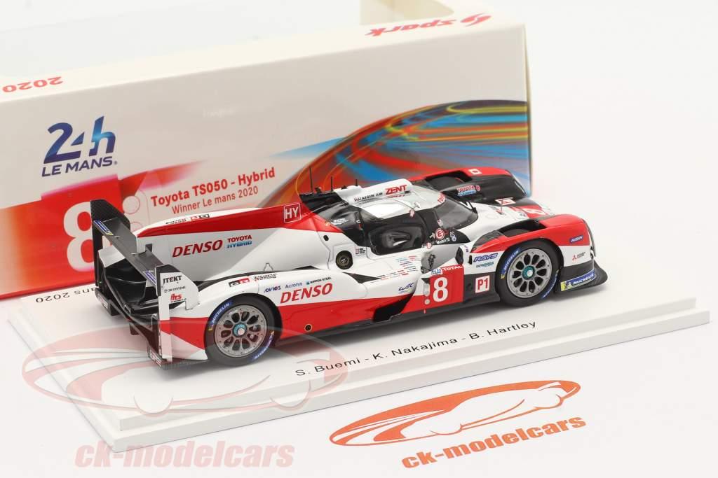 Toyota TS050 Hybrid #8 Winner 24h LeMans 2020 Toyota Gazoo Racing 1:43 Spark