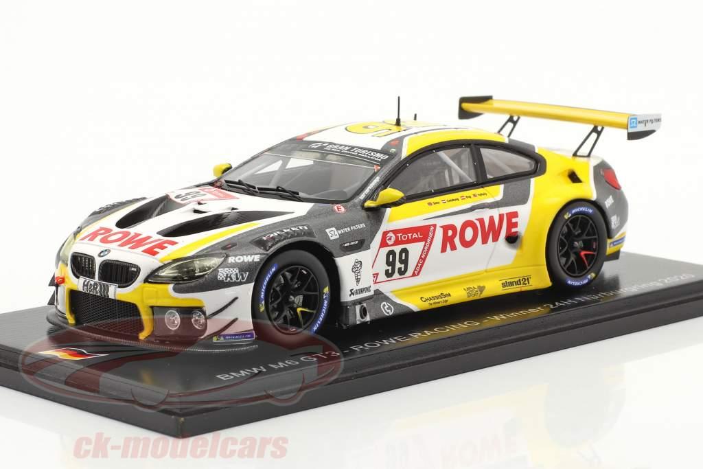 BMW M6 GT3 #99 Sieger 24h Nürburgring 2020 Rowe Racing 1:43 Spark