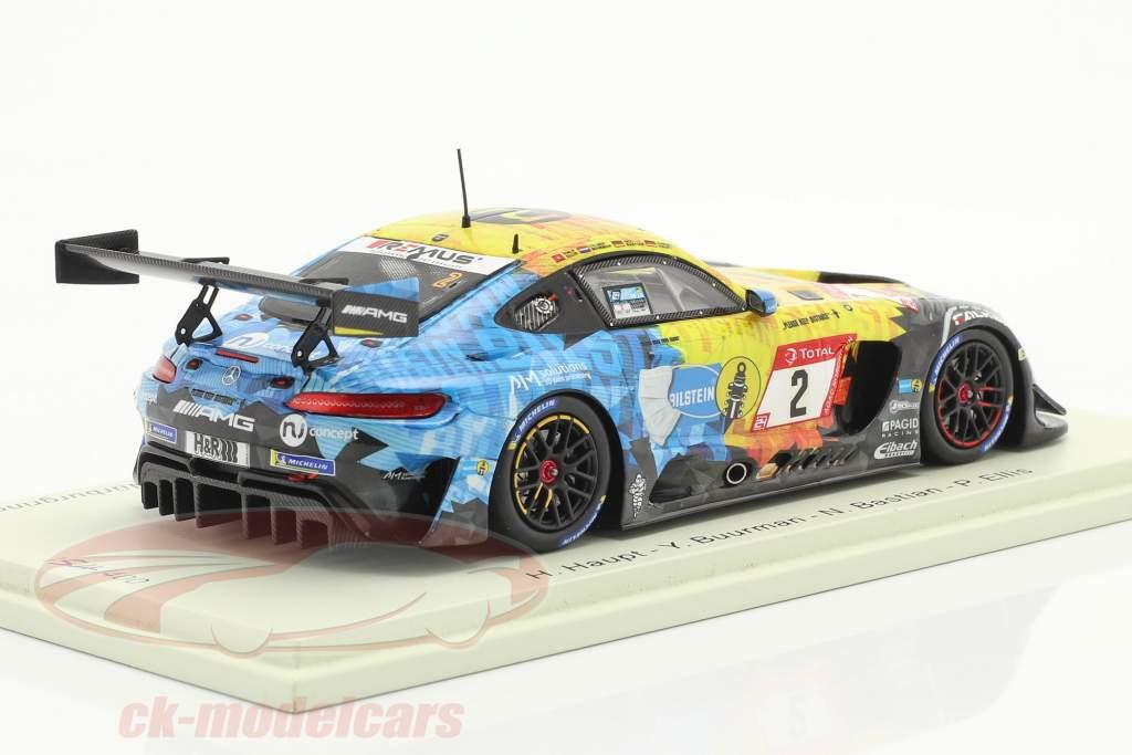 Mercedes-Benz AMG GT3 #2 Noveno 24h Nürburgring 2020 Mercedes-AMG Team HRT 1:43 Spark