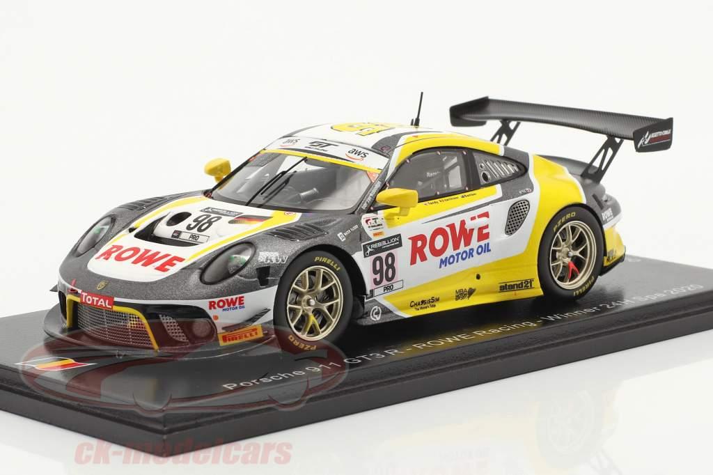 Porsche 911 GT3 R #98 Sieger 24h Spa 2020 Rowe Racing 1:43 Spark