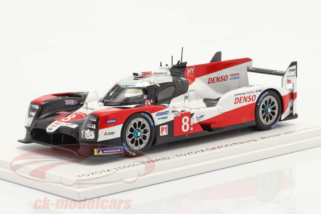 Toyota TS050 Hybrid #8 vencedora 24h LeMans 2020 Toyota Gazoo Racing 1:43 Spark