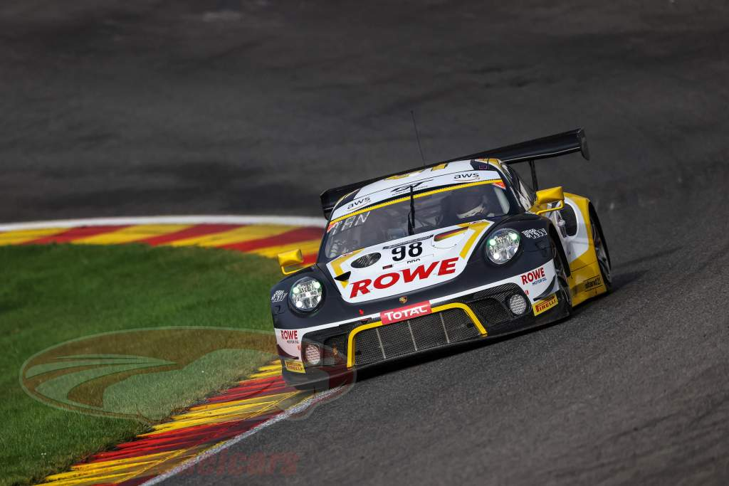 Porsche 911 GT3 R #98 gagnant 24h Spa 2020 Rowe Racing 1:43 Spark