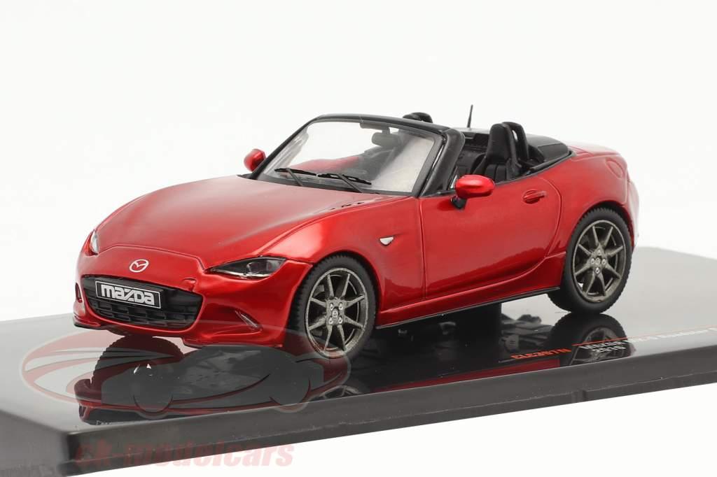 Mazda MX-5 Roadster Selection 2016 rød metallisk 1:43 Ixo