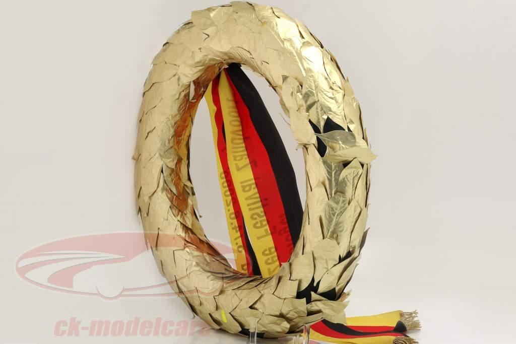 Original Winner's wreath DMSB Renault Sport Clio Trophy Zandvoort 2000