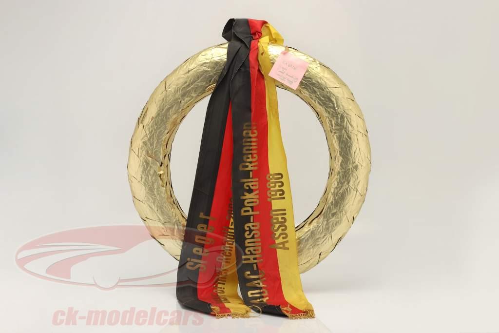 Original Winner's wreath Hansa Cup Race Assen formula Renault 2.0 1998