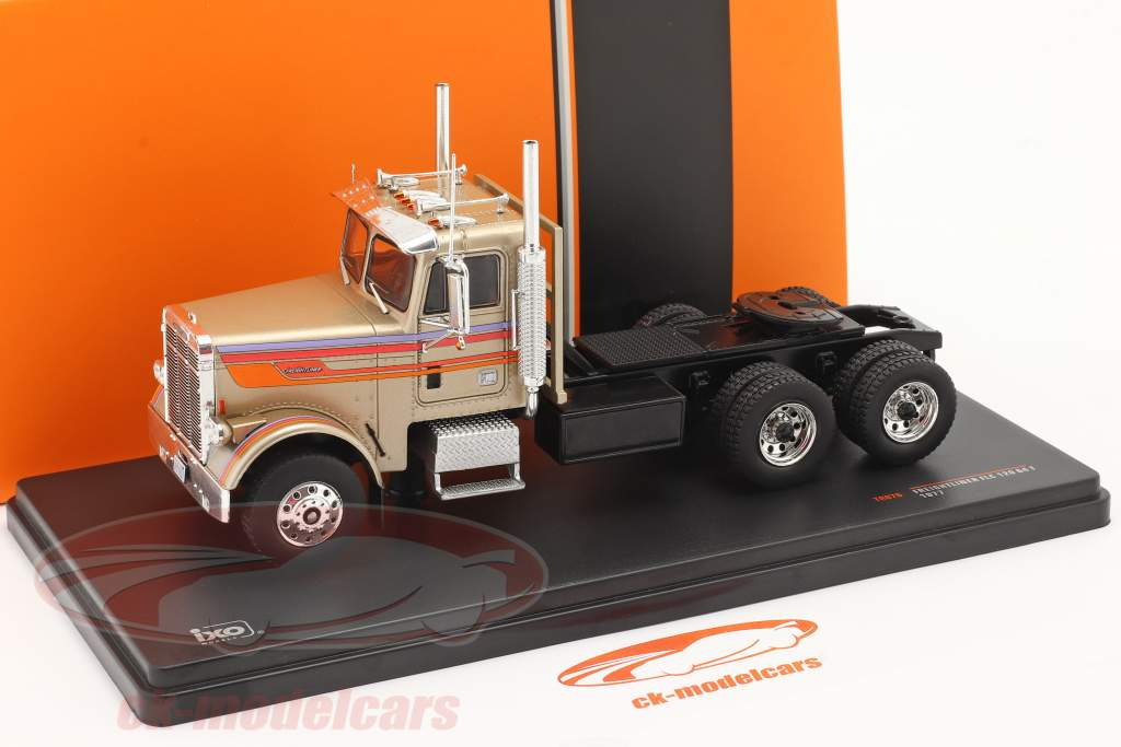 Freightliner FLC 120 64 T Truck 1977 gold-beige metallic 1:43 Ixo