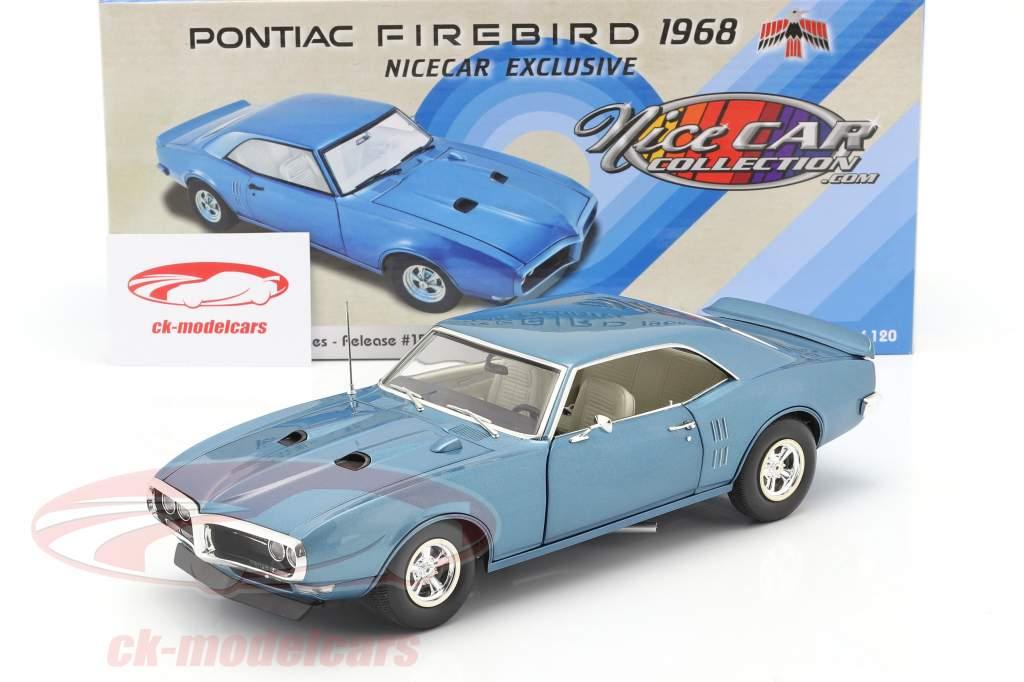Pontiac Firebird Street Fighter Baujahr 1968 luzernblau 1:18 GMP