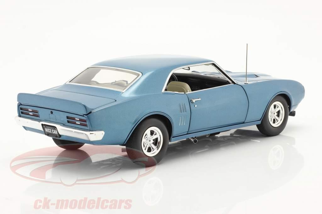 Pontiac Firebird Street Fighter Año de construcción 1968 azul de alfalfa 1:18 GMP