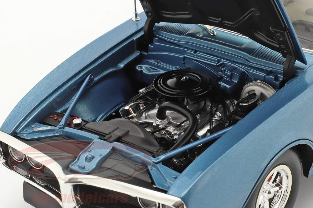 Pontiac Firebird Street Fighter Anno di costruzione 1968 blu lucerna 1:18 GMP
