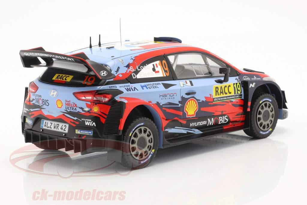 Hyundai i20 Coupe WRC #19 4e Rallye Catalonië 2019 Loeb, Elena 1:18 Ixo