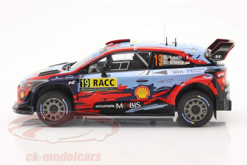 Hyundai i20 Coupe WRC #19 Cuarto Rallye Catalunya 2019 Loeb, Elena 1:18 Ixo