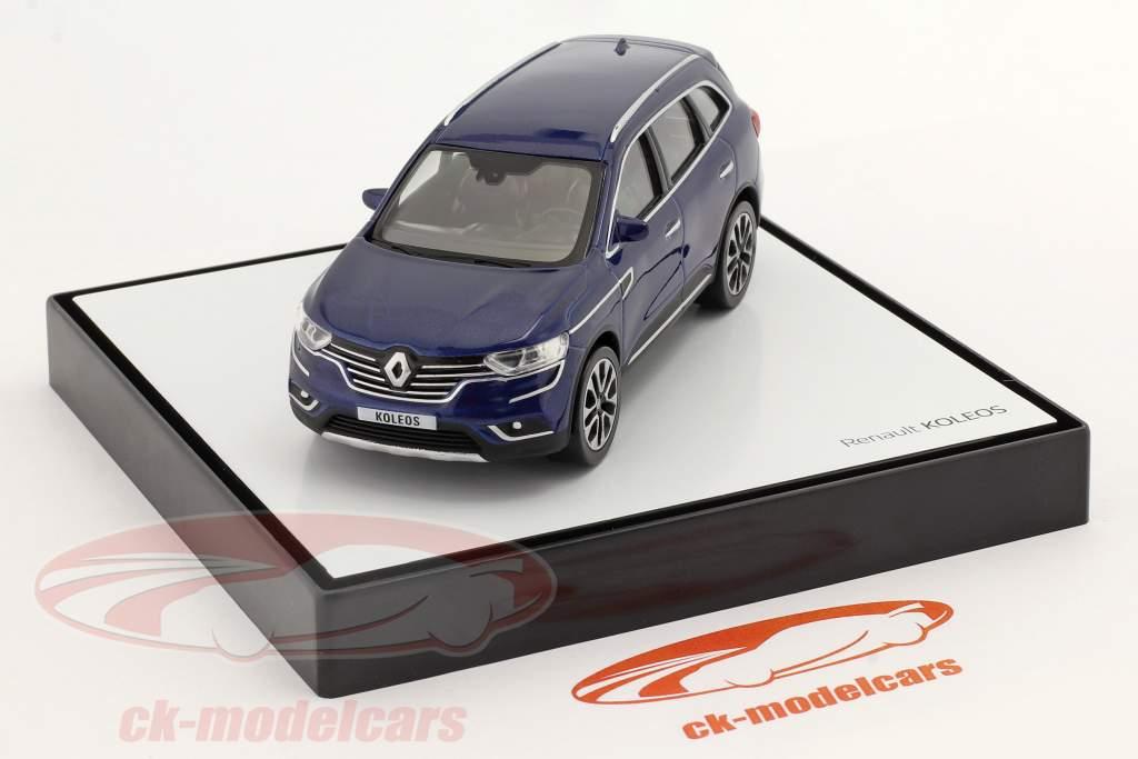Renault Koleos Año de construcción 2016 azul oscuro 1:43 Norev