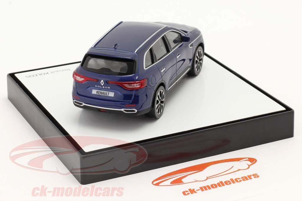 Renault Koleos bouwjaar 2016 donkerblauw 1:43 Norev