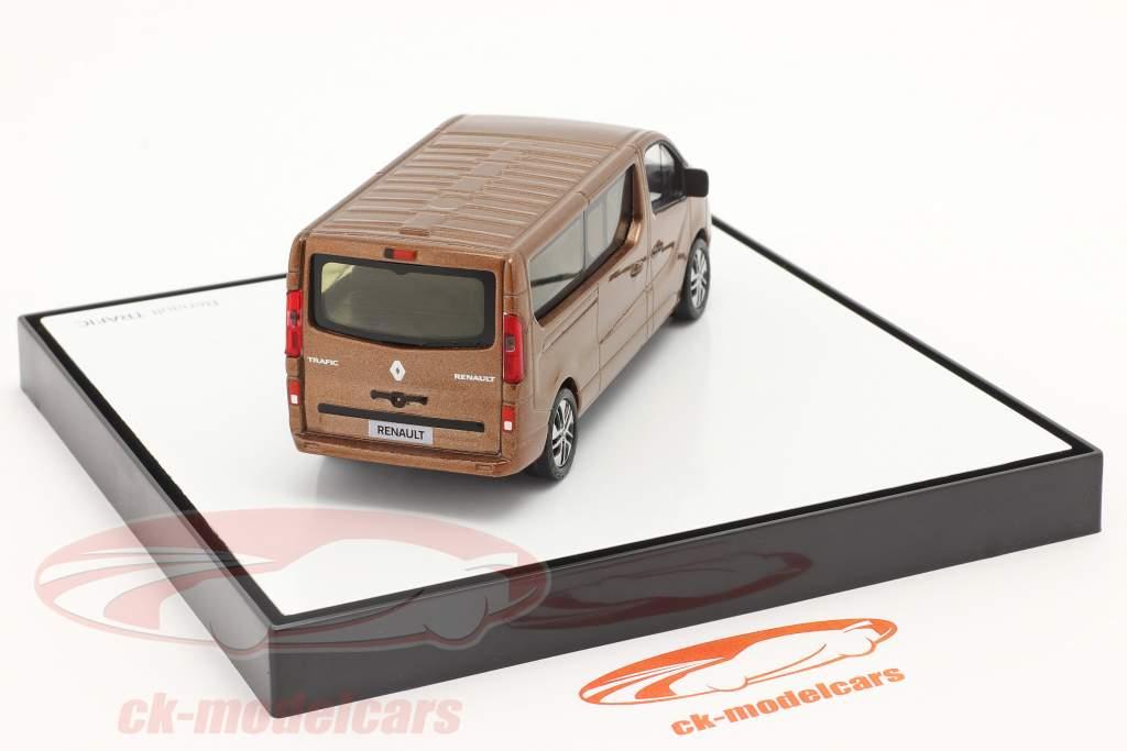 Renault Trafic III Combi Byggeår 2018 kobber metallisk 1:43 Norev