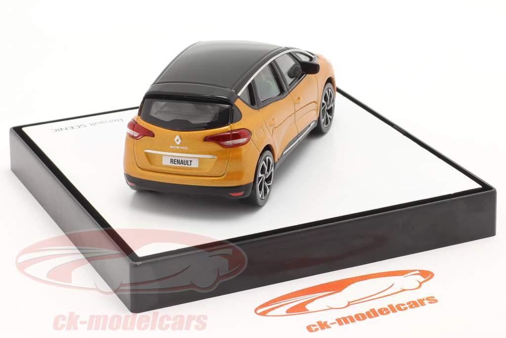 Renault Scenic Generation 4 Baujahr 2016 taklamakan orange / schwarz 1:43 Norev