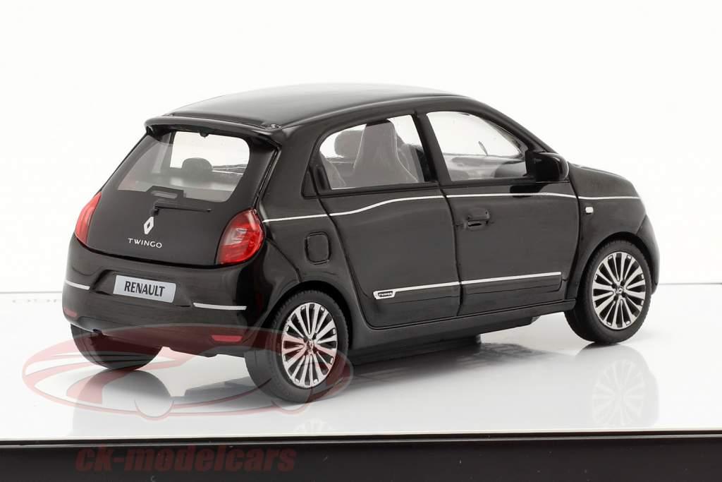 Renault Twingo generatie 3 Facelift 2019 zwart 1:43 Norev