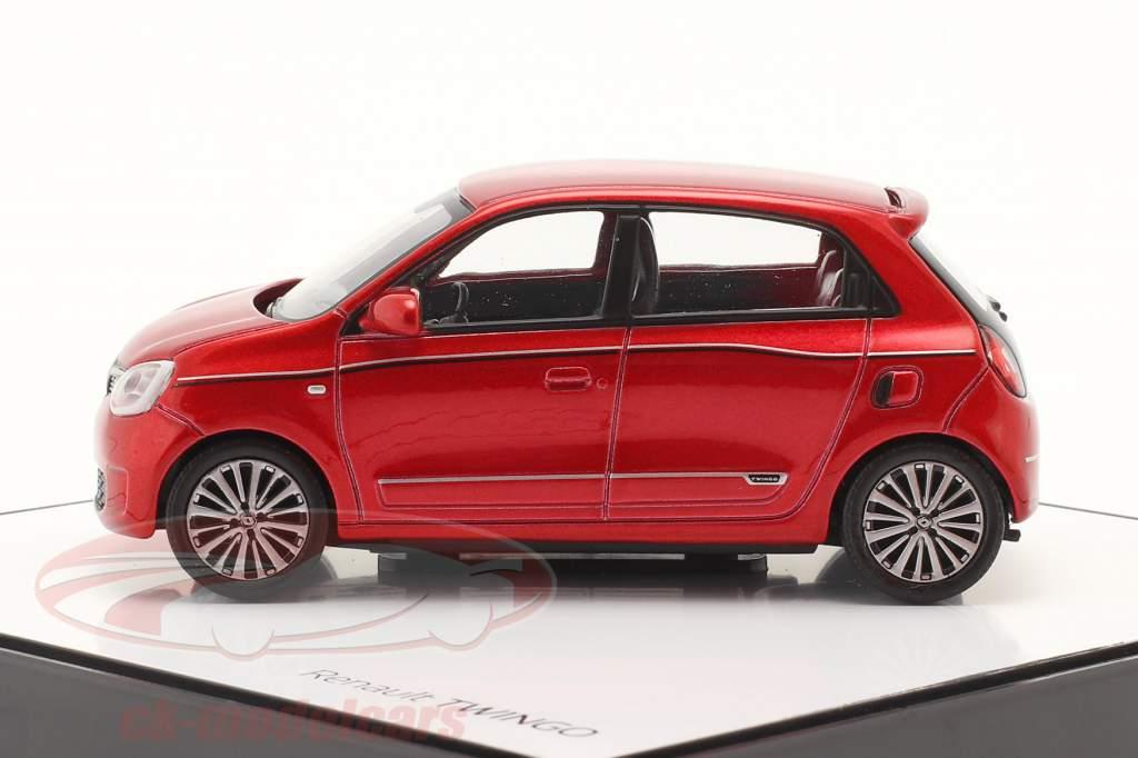 Renault Twingo generatie 3 Facelift 2019 vlam rood 1:43 Norev