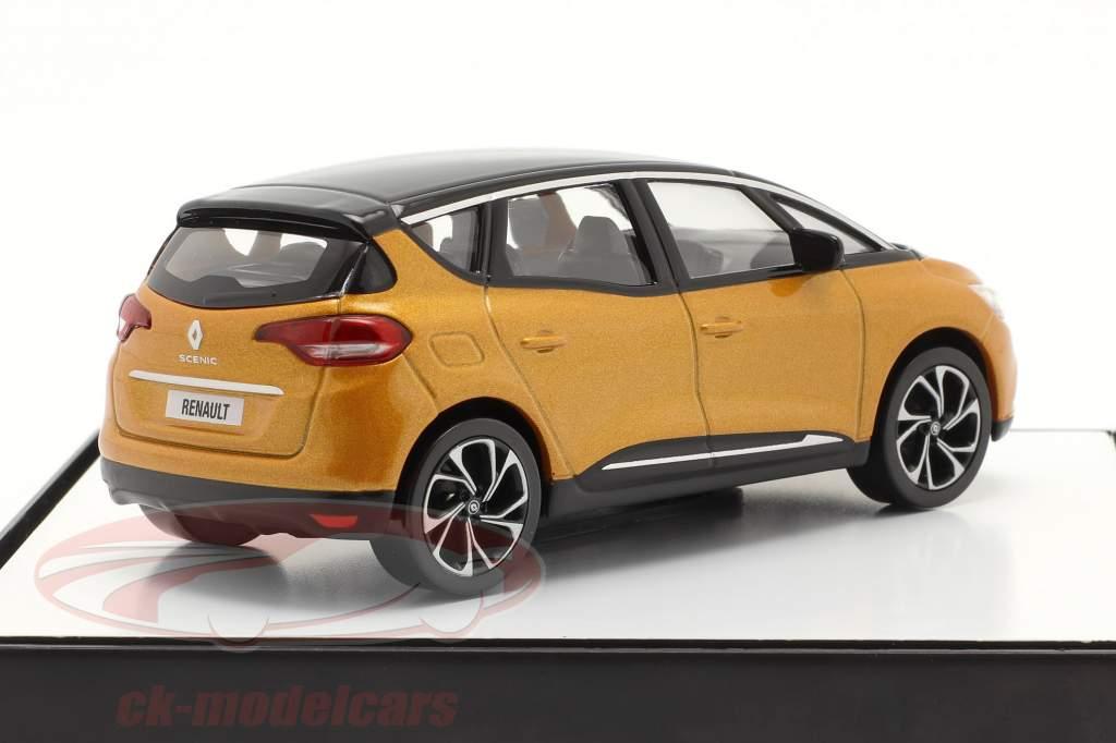 Renault Scenic 世代 4 建設年 2016 taklamakan オレンジ / 黒 1:43 Norev