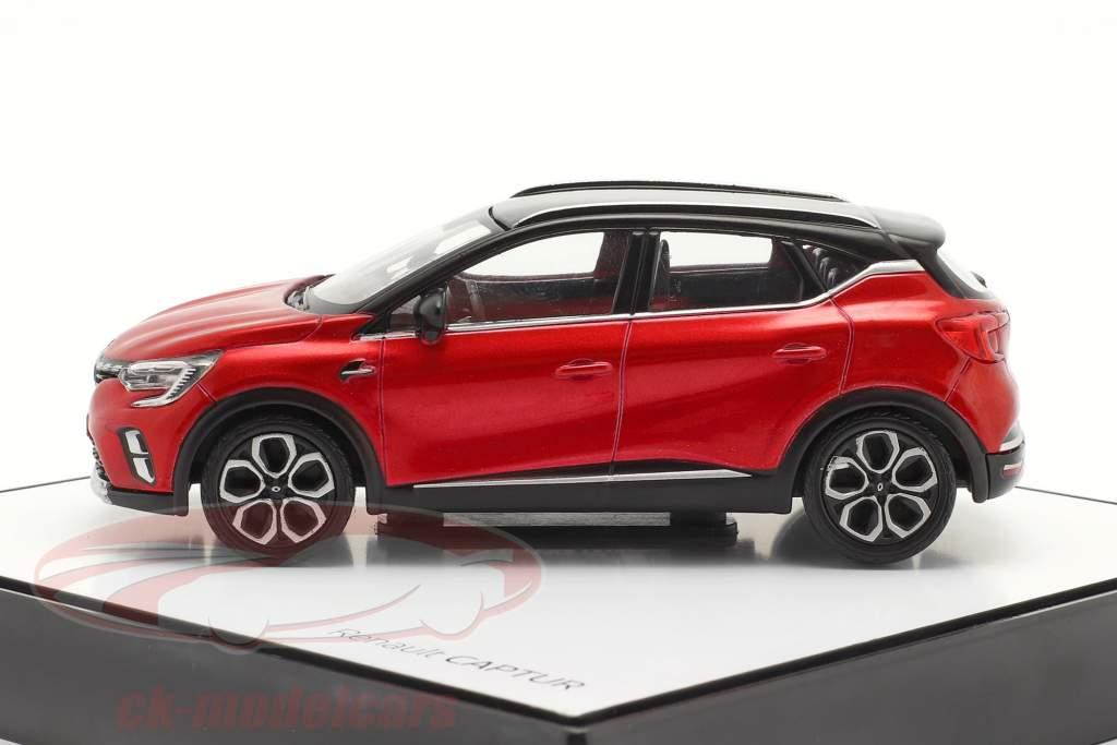 Renault Captur Ano de construção 2020 vermelho / Preto 1:43 Norev