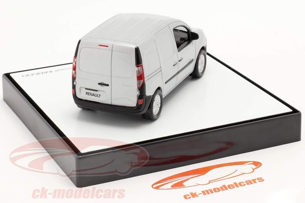 Renault Kangoo Generacion 2 Facelift 2013 gris-plata metálico 1:43 Norev
