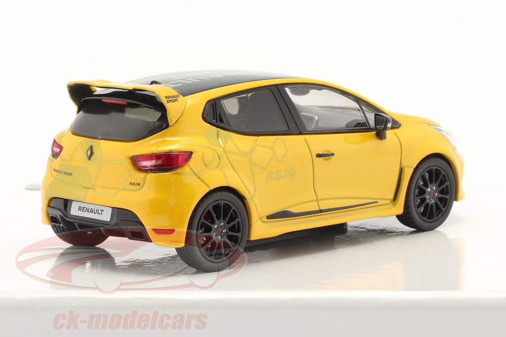 Renault Clio R.S. 16 Ano de construção 2016 amarelo / Preto 1:43 Norev