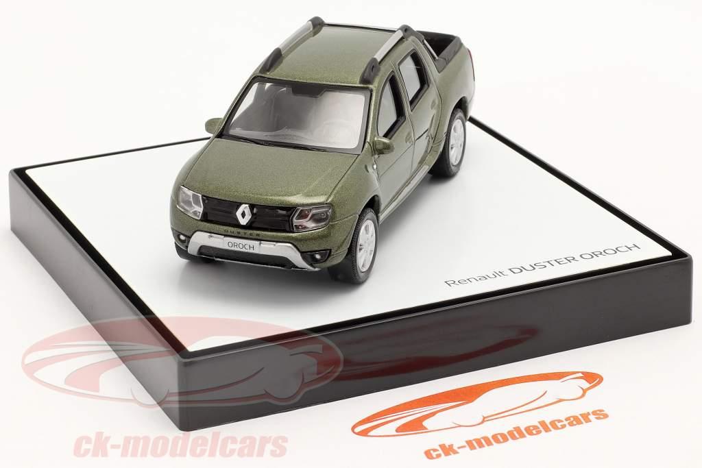 Renault Duster Oroch Pick-Up bouwjaar 2015 groen metalen 1:43 Norev