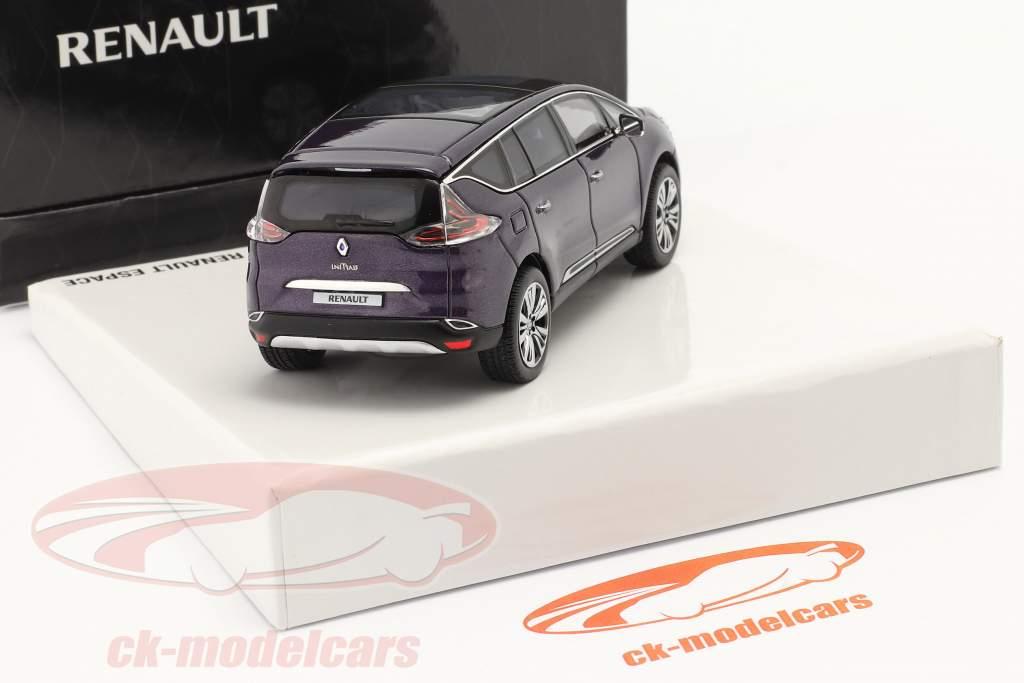 Renault Espace Initiale Paris Concept Car 2014 amethyst 1:43 Norev