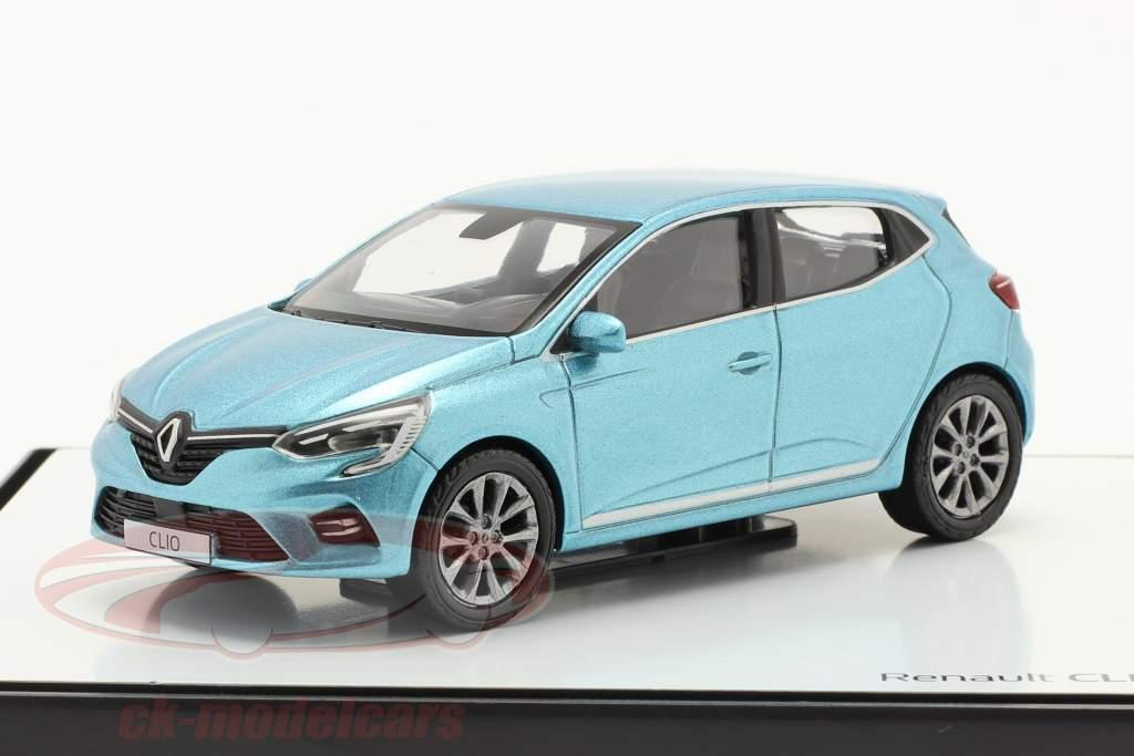 Renault Clio generazione 5 Anno di costruzione 2019 Azzurro metallico 1:43 Norev
