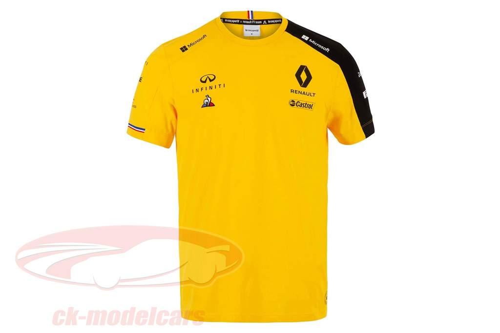 Renault F1 Team Camiseta de manga corta fórmula 1 2019 #3 Daniel Ricciardo