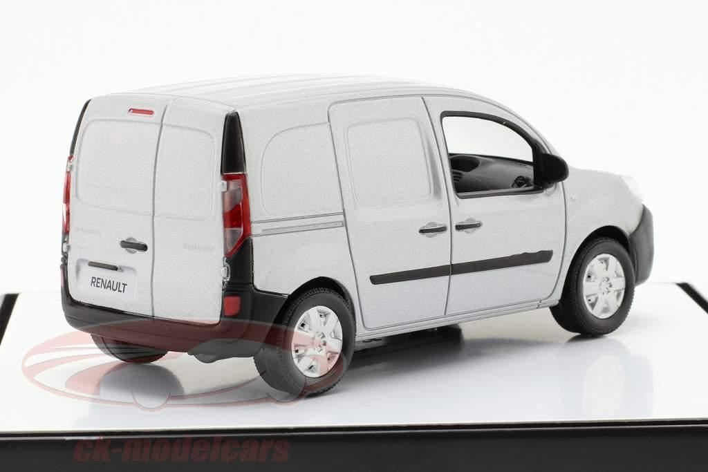 Renault Kangoo generazione 2 Facelift 2013 grigio argento metallico 1:43 Norev