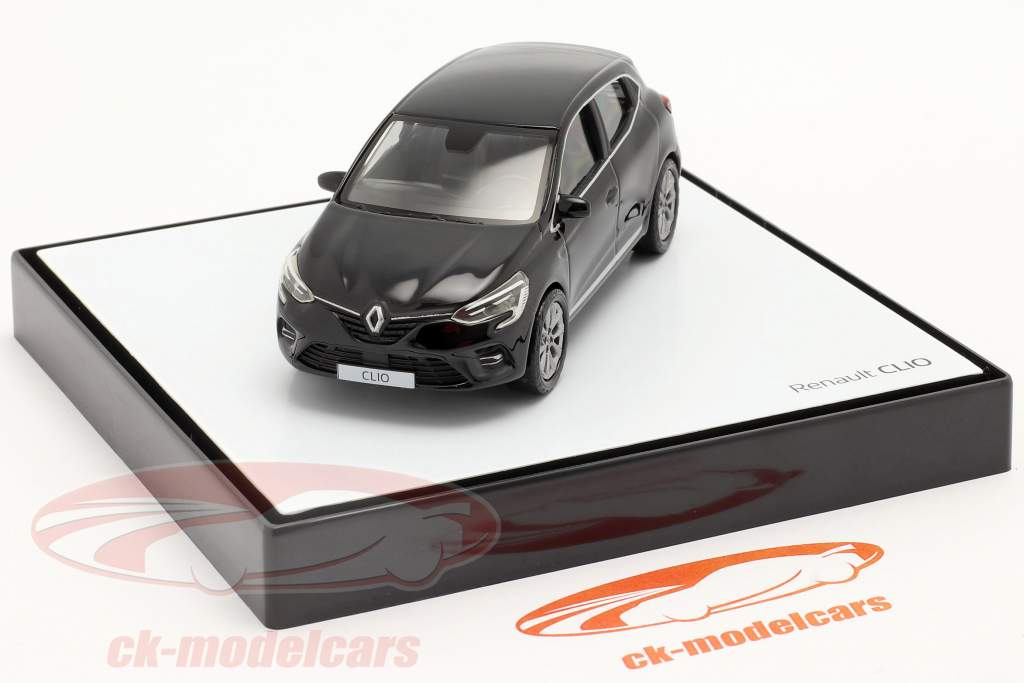 Renault Clio generation 5 year 2019 black 1:43 Norev