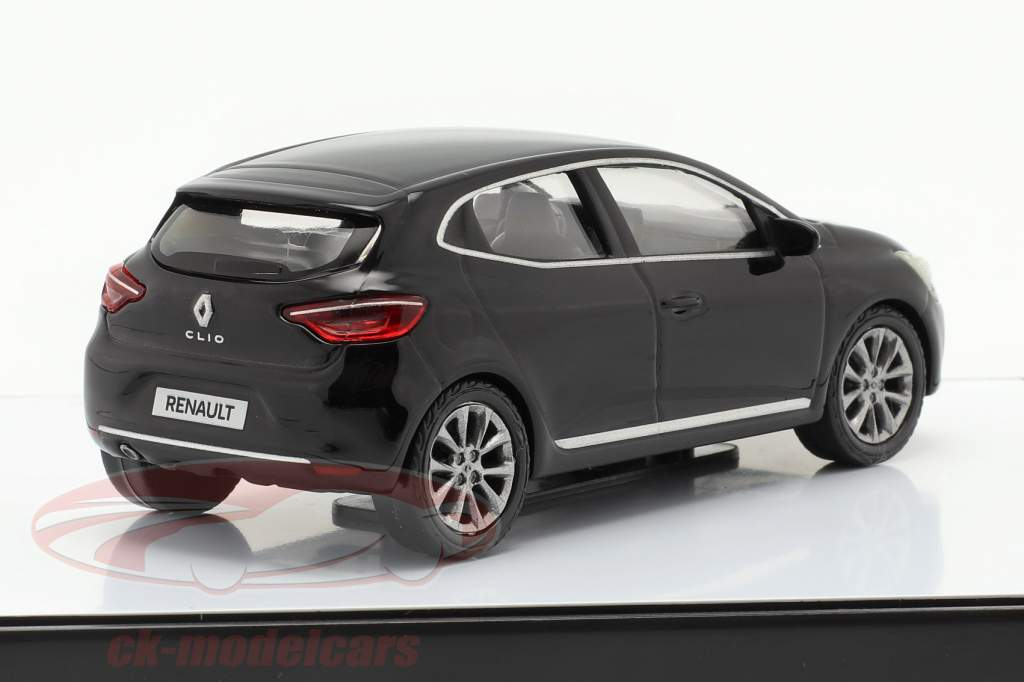 Renault Clio Generation 5 Baujahr 2019 schwarz 1:43 Norev