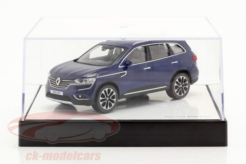 Renault Koleos Anno di costruzione 2016 blu scuro 1:43 Norev