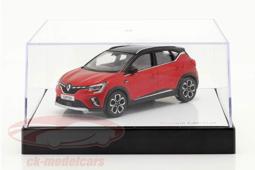 Renault Captur year 2020 red / black 1:43 Norev