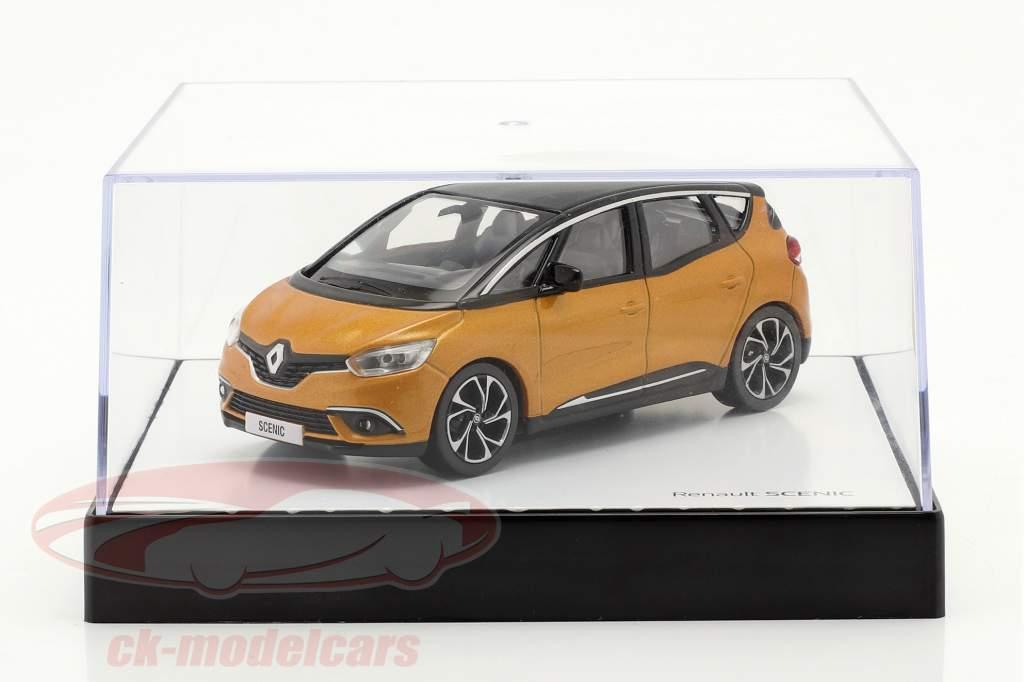 Renault Scenic generation 4 Byggeår 2016 taklamakan orange / sort 1:43 Norev