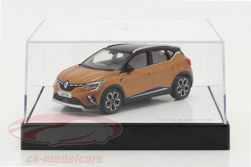 Renault Captur Année de construction 2020 taklamakan Orange / noir 1:43 Norev