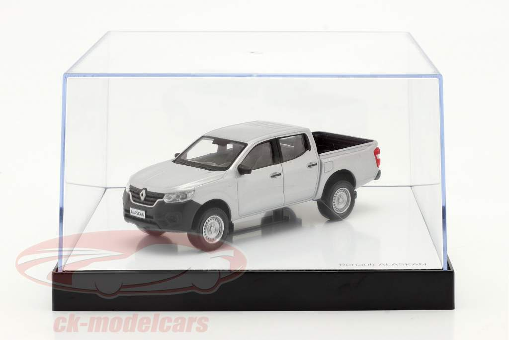 Renault Alaskan Baujahr 2018 silbergrau metallic 1:43 Norev