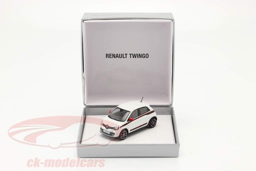 Renault Twingo Generacion 3 Año de construcción 2014 blanco 1:43 Norev