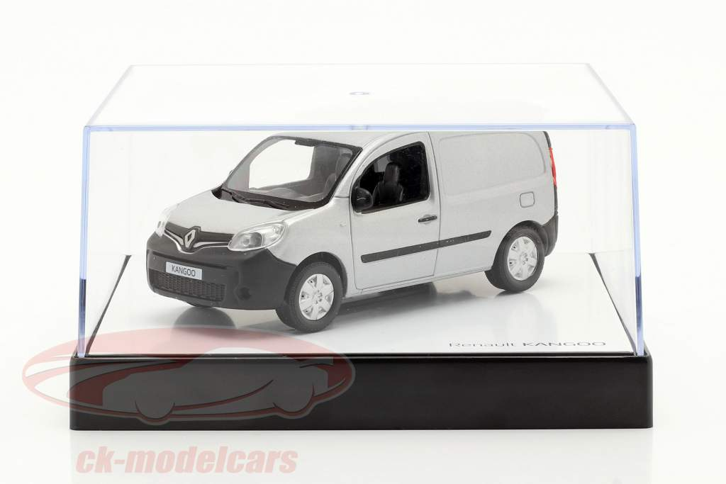 Renault Kangoo geração 2 Facelift 2013 cinza prateado metálico 1:43 Norev