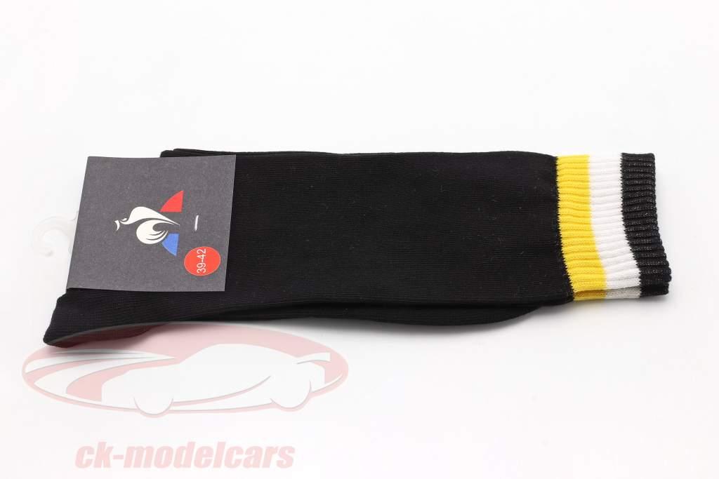 Calzini Renault F1 Team nero dimensione 39-42