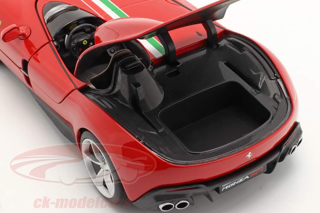 Ferrari Monza SP1 Année de construction 2019 rouge 1:18 Bburago