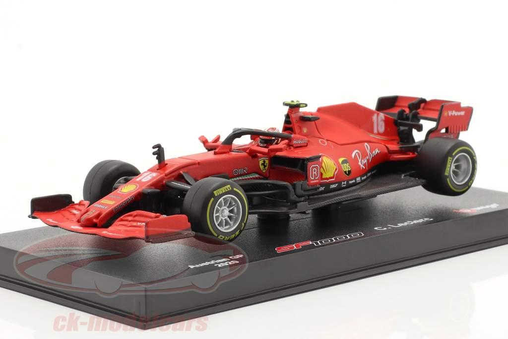 Charles Leclerc Ferrari SF1000 #16 2e autrichien GP formule 1 2020 1:43 Bburago