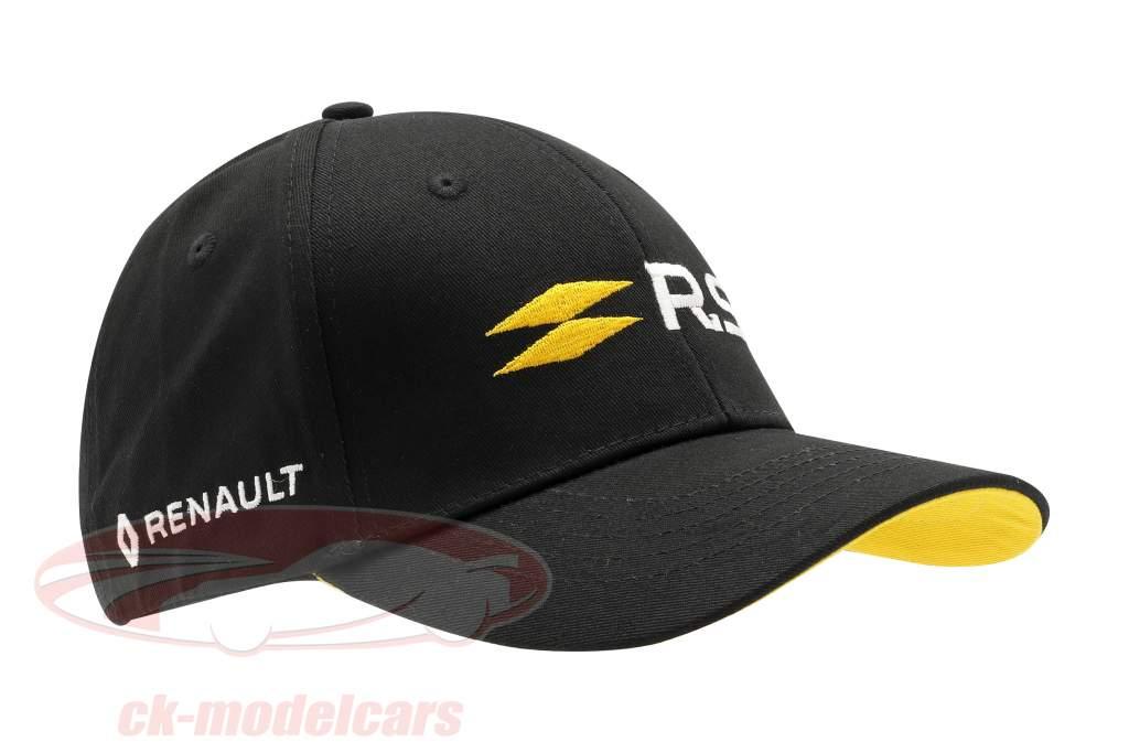 Boné Renault R.S. Preto