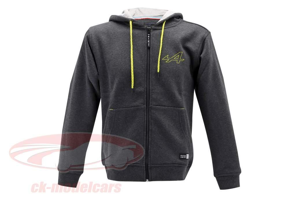 Alpine Fleece jacket grey / yellow