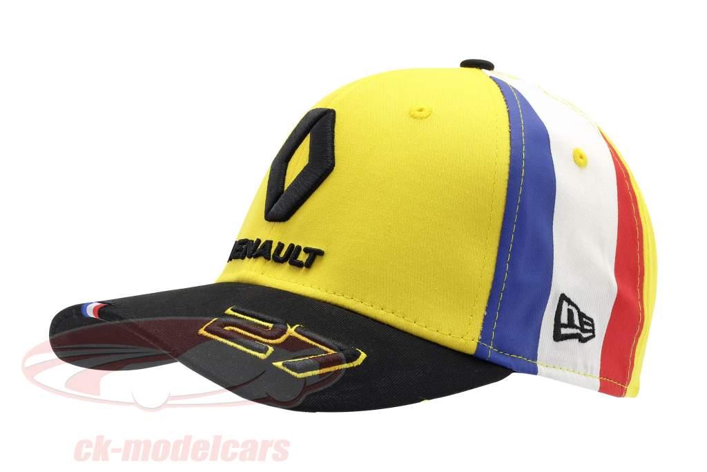 Cap Renault F1 Team 2019 #27 Hülkenberg giallo / nero / bianca dimensione M / L